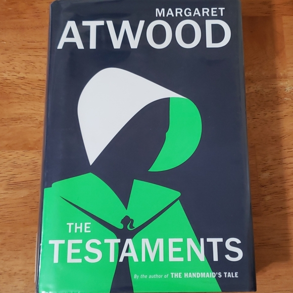 The Testaments hardcover, Handmaid's Tale sequel
